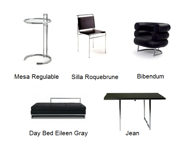 Eileen gray muebles modernos mamma mia muebles de dise o for Le corbusier muebles