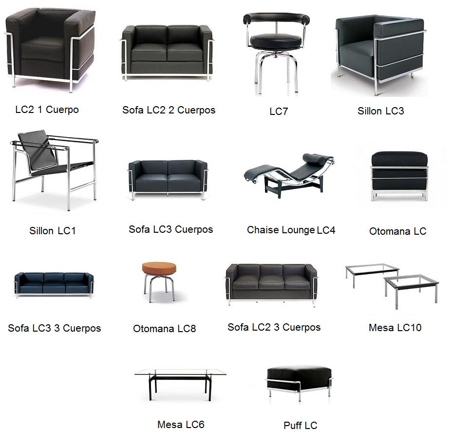Le Corbusier Muebles Modernos Mamma Mia Muebles De Dise O  # Muebles A Medida La Justicia